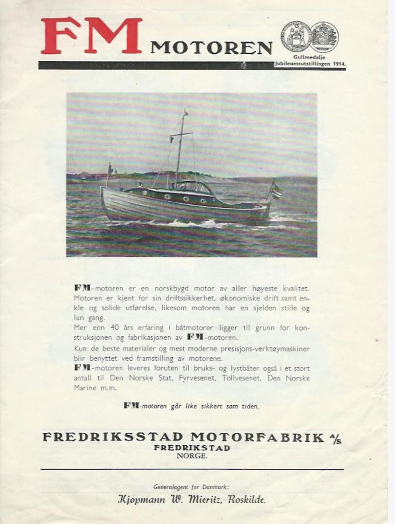 Brosjyre fra Roskilde